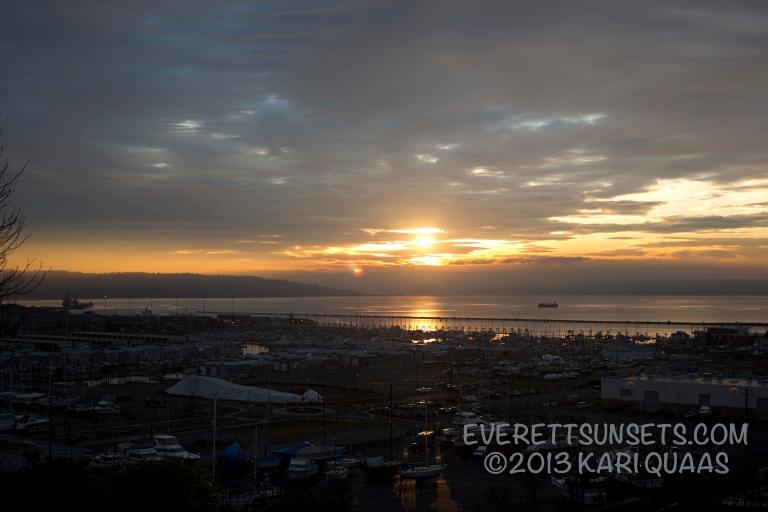 Sunset - December 30, 2013
