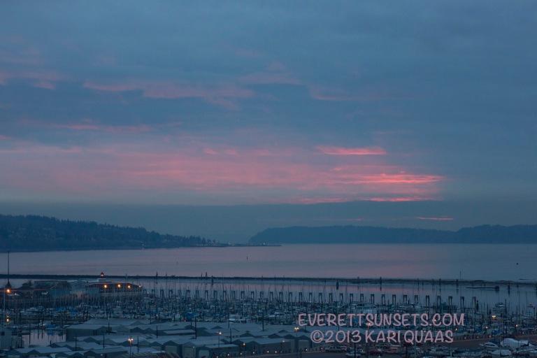 Sunset - December 10, 2013