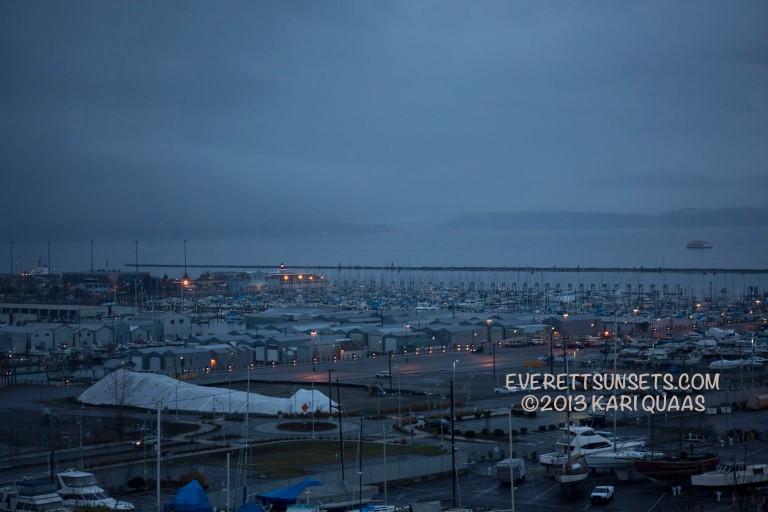 Sunset Fog - December 15, 2013