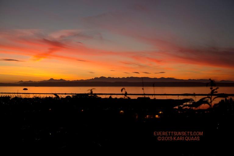 Sunset - December 16, 2013