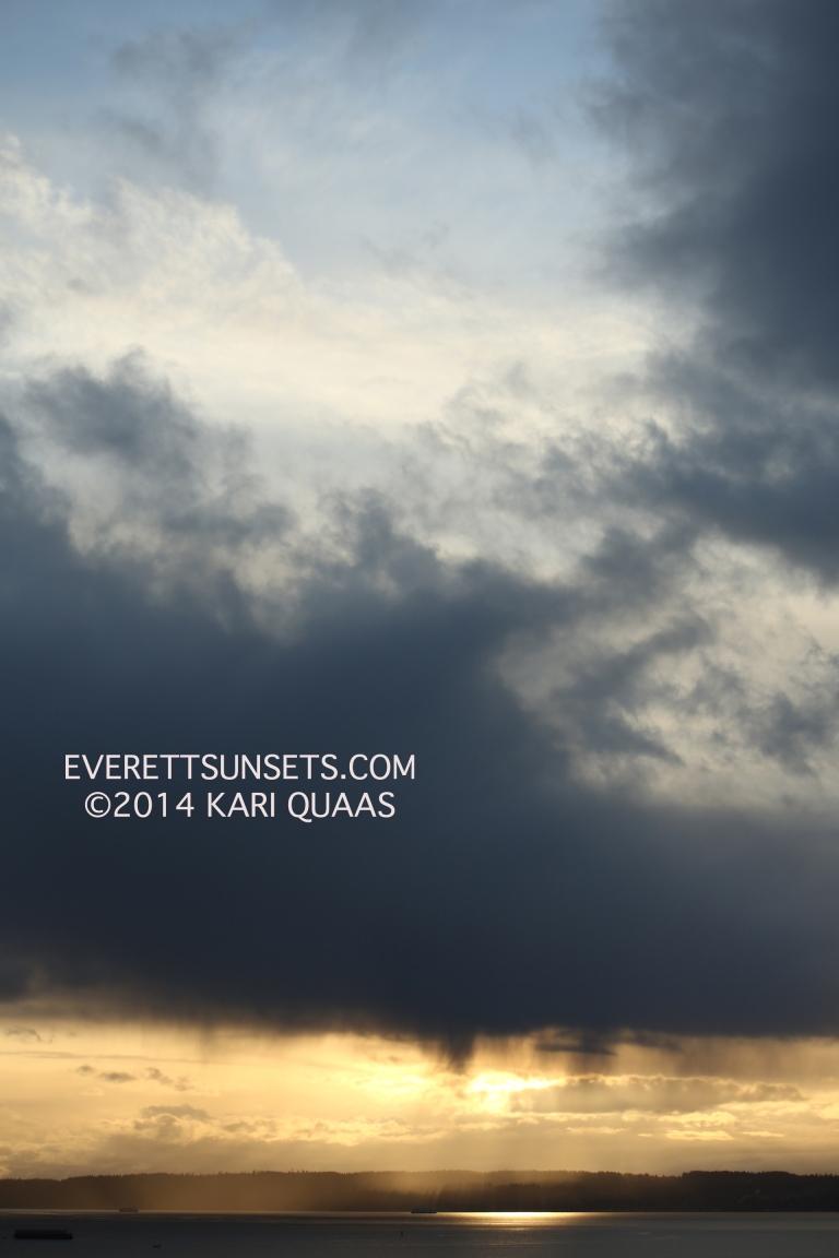 Sunset - February 19, 2014